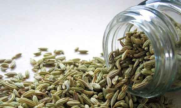 des grains de fenouil, f'est efficace contre le ballonnement