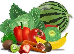 Manger des fruits et légumes de saison, locaux et bio !!