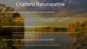 Les meilleures citations de naturopathie
