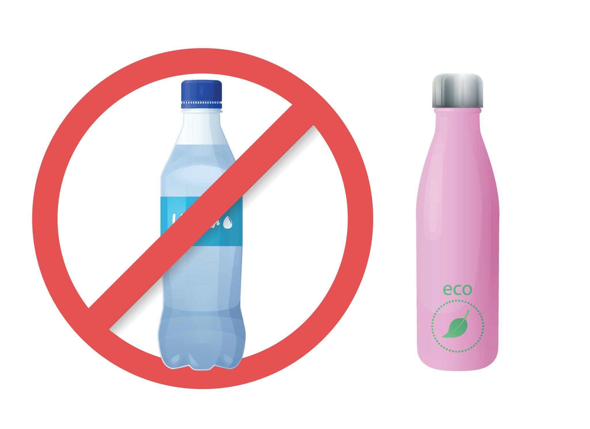 Zéro bouteille plastique pour l'eau : pas si simple !