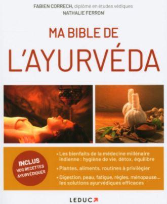 Ma bible de l'ayurveda écrit par FABIEN CORRECH