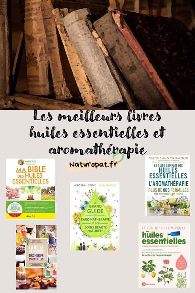 Read more about the article Les meilleurs livres huiles essentielles et aromathérapie